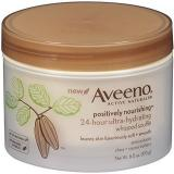 Aveeno Positively Nourishing Whipped Souffle 乳木果深层滋养护体乳
