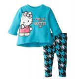 Hello Kitty 女童两件套 9个月