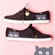 Keds Taylor Swift Sneaky Cat 休闲猫咪帆布鞋