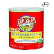 EARTH'S BEST Organic Infant Formula 有机含铁奶粉