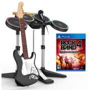《Rock Band 4(摇滚乐队4)》Mad Catz乐队套装(吉他+架子鼓+麦克风)