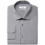 Calvin Klein Regular Fit Check 男士格子衬衫