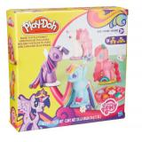 Hasbro 孩之宝 Play-Doh 培乐多 My Little Pony Make 'n Style Ponies 小马宝莉