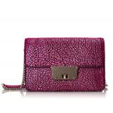 MILLY Astor Metallic Mini Convertible 女款斜挎包