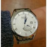 SEIKO 精工 SRN055 男款人动电能腕表