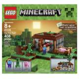 LEGO 乐高 Minecraft 我的世界系列 21115 初夜