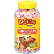 L'il Critters 丽贵 钙+维生素D3 小熊软糖
