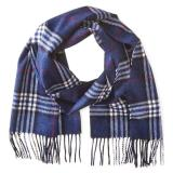 Phenix Cashmere Tartan Plaid 男士羊绒围巾