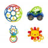 O Ball 婴儿摇铃 汽车玩具4件套