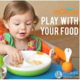 Lansinoh momma Mealtime宝宝防滑保温碗餐具不倒翁叉勺套装