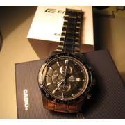 CASIO 卡西欧 EF503D-1AV 男士时装腕表