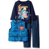 DC Comics Superman Vest 男童超人系列三件套