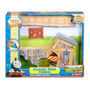 Fisher-Price 费雪 Thomas & Friends Wooden Railway 采石厂矿井隧道