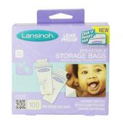 Lansinoh 20435 母乳储存袋 100个