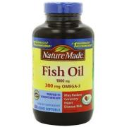 Nature Made Fish Oil Omega-3 深海魚油