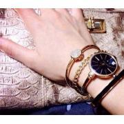 ANNE KLEIN AK/1470 女款时装腕表手镯套装