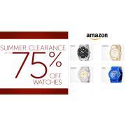 亚马逊美网手表类夏季清仓 统统2.5折起