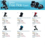 Amazon.com Britax品牌产品买一送一啦!购买Britax手推车可免费获得安全座椅或提篮