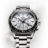 OMEGA 欧米茄 Seamaster 男款GMT 机械计时腕表