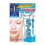 6盒KOSE/高丝胶原蛋白保湿美白抗皱面膜 弹力美肌5片/盒