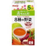 meiji 明治 AH-18 8种蔬菜 婴儿蔬果粉 5袋*6盒