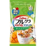 Calbee 芒果木瓜椰肉麦片 350g