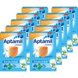 W家Aptamil爱他美2+段婴幼儿配方奶粉600g*10盒