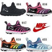 日本 nike耐克毛毛虫男女童鞋运动鞋学步鞋 343738 新款 17-22CM