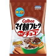 Calbee 早餐玉米片 巧克力味 400g