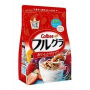 再特價:Calbee 水果顆粒果仁谷物營養麥片 800g