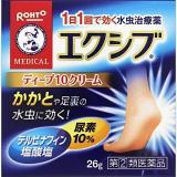 ROHTO 乐敦 MEDICAL Deep10cream 脚部滋润抑菌膏 26g