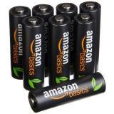 Amazon Basics 亚马逊倍思 AA 5号镍氢充电电池(8节、2400mAh)