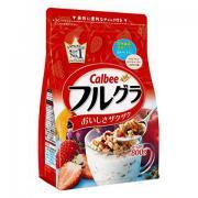 Calbee 水果颗粒果仁谷物营养麦片 800g