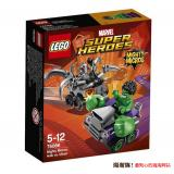 LEGO 乐高  超级英雄系列 76066 绿巨人对战奥创