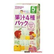 wakodo 和光堂 婴儿宝宝辅食 4种口味果汁粉