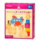 WAKODO 和光堂 婴儿磨牙饼干 交通工具系列 (25g×2袋)×6