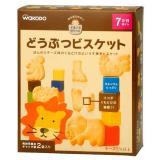 wakodo 和光堂 高钙奶酪动物婴儿饼干 25g*2袋 4盒