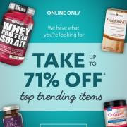 Vitamin World重磅折扣:热卖保健品仅2.9折起!