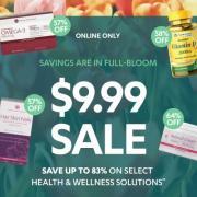 Vitamin World精选特惠:自营保健品低至9.99美元!