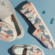 迪士尼Disney精选特惠:Disney × TOMS联手打造梦幻舒适公主鞋!