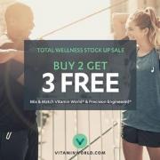 Vitamin World最新优惠:热门保健品享买2送3!