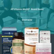 Vitamin World精选特惠:自营保健品仅4折!