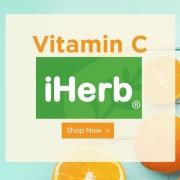 iHerb最新特惠:精选维生素C专场享9折