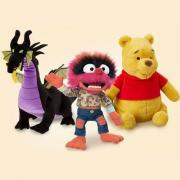 Disney精選特惠:熱賣毛絨玩具第2件僅3美元