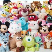 Disney精選特惠:經典周邊毛絨玩具僅$12!