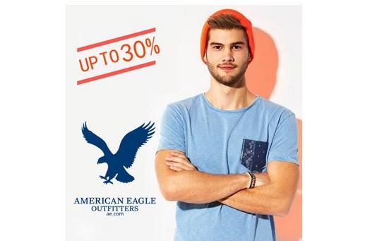 American Eagle官网 清仓区服饰、配件、鞋子等 低至3折!