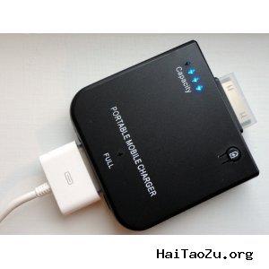 iPhone,iPod备用电源 白菜价$4.46