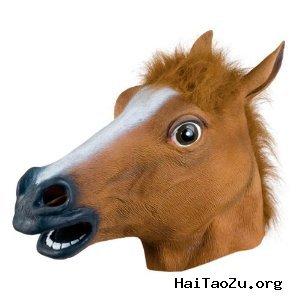 猛货:Accoutrements马头面具,让生活更有情趣 $19.99