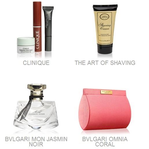Nordstrom官网购买美容护肤品满$125,即可获赠装满24件化妆品小样的化妆包!