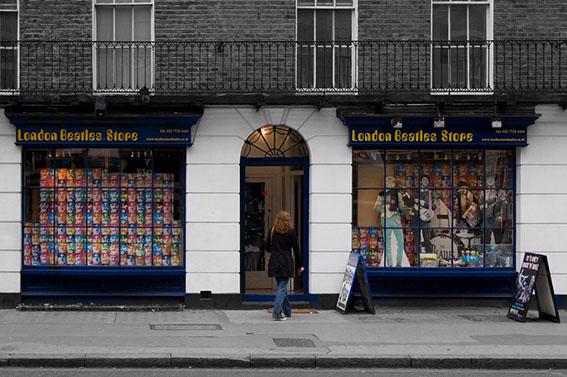 """去倫敦絕不能錯過的特色""""店鋪百貨"""""""
